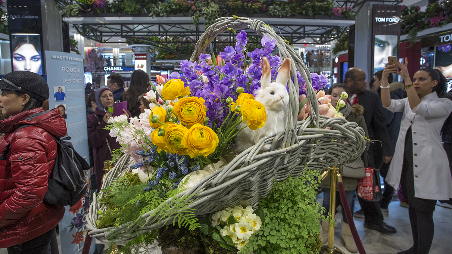 Gorgeous photos of Macy's Flower Show