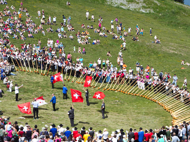 Alphorn festival