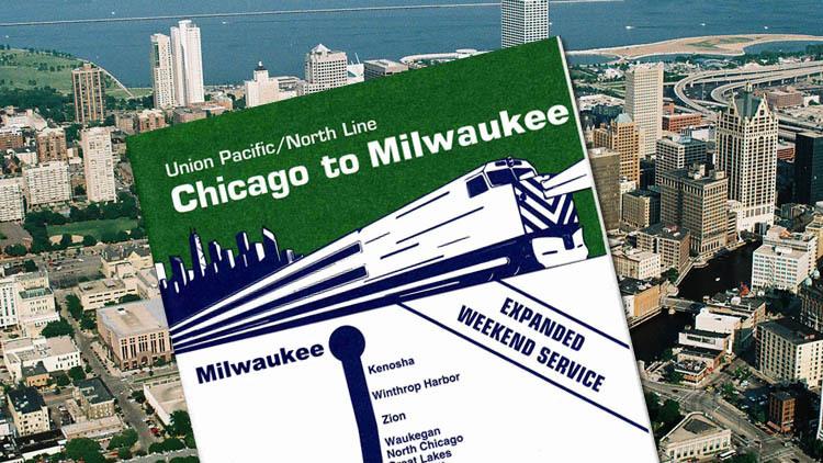 Metra Union Pacific–North Line to Milwaukee