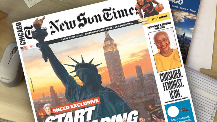 New York Times to take over Sun-Times