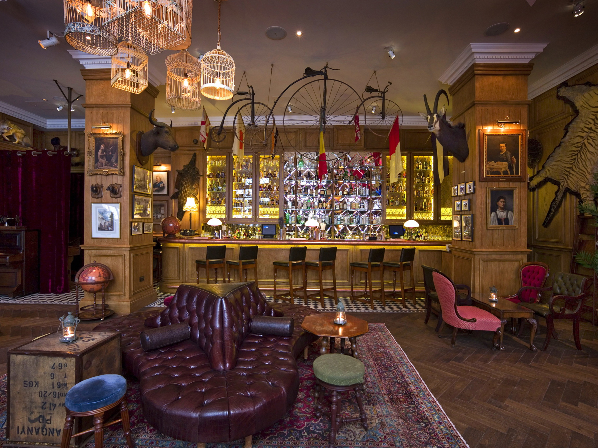 Mr Fogg\'s | Bars and pubs in Mayfair, London