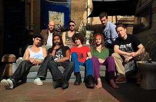 Promo shot of Bristol band First Degree Burns