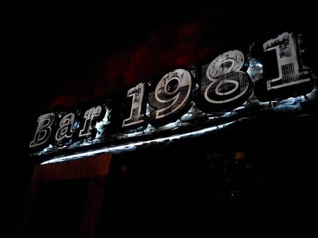 Bar 1981