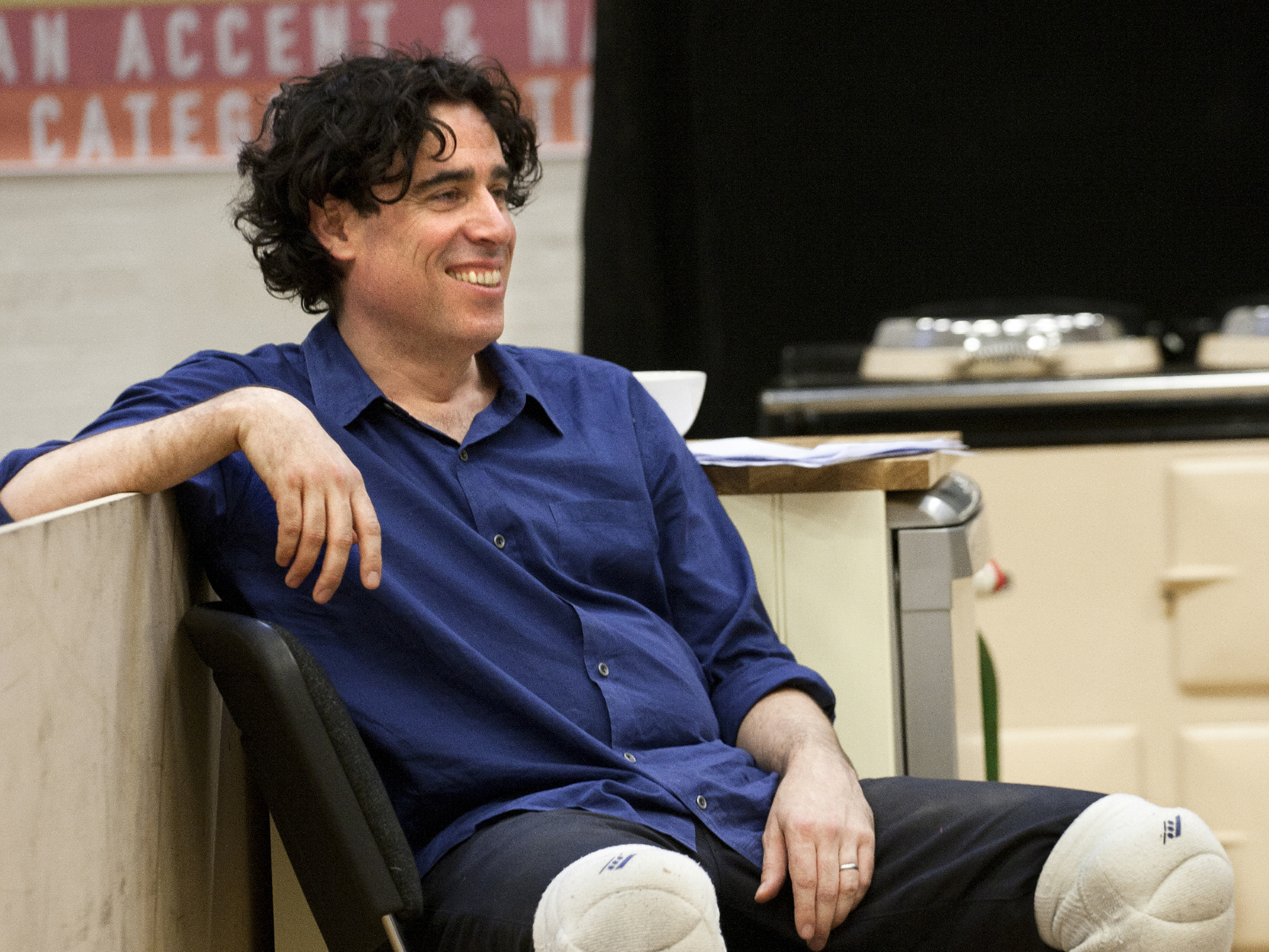 Stephen Mangan on 'Rules for Living' and onstage mishaps