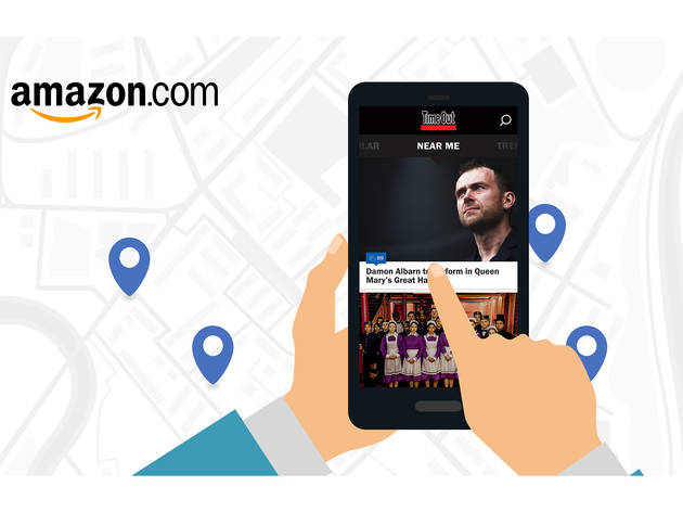 Time Out Boston app for Amazon Fire