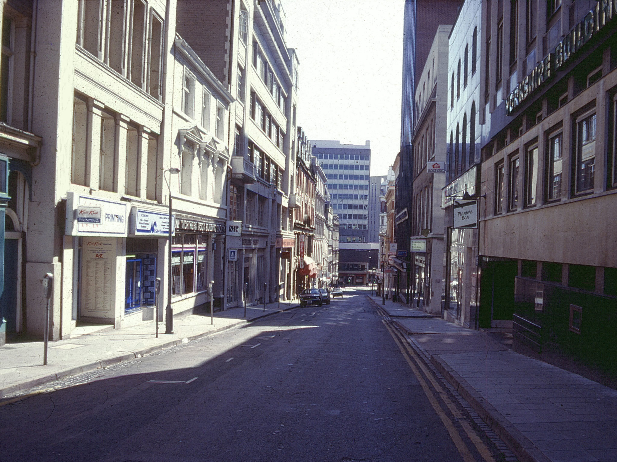 Birmingham in the '80s, Temple Street North