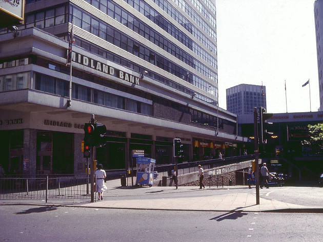 Birmingham in the '80s, Stephenson Street