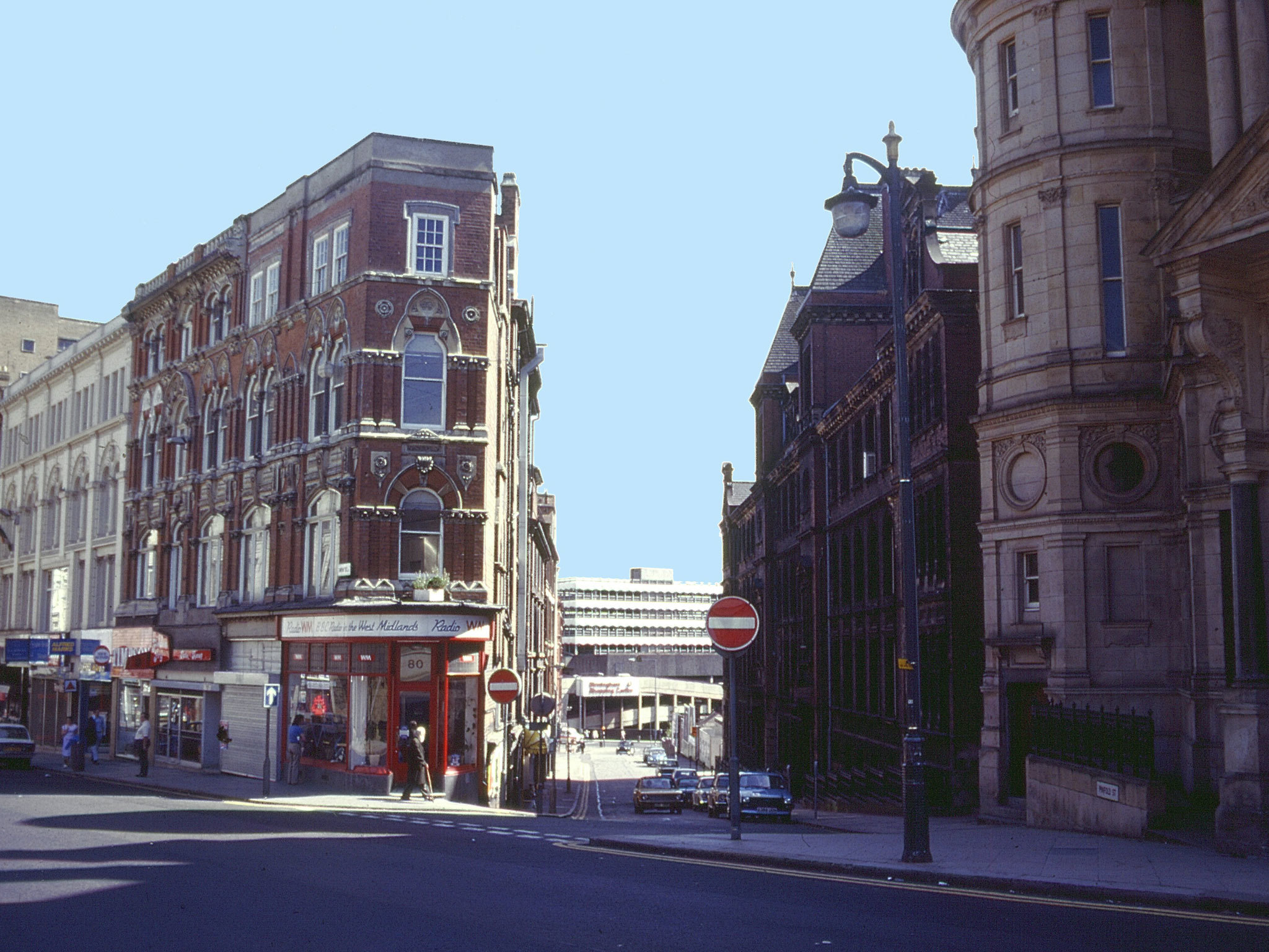 Birmingham in the '80s, Pinfold Street