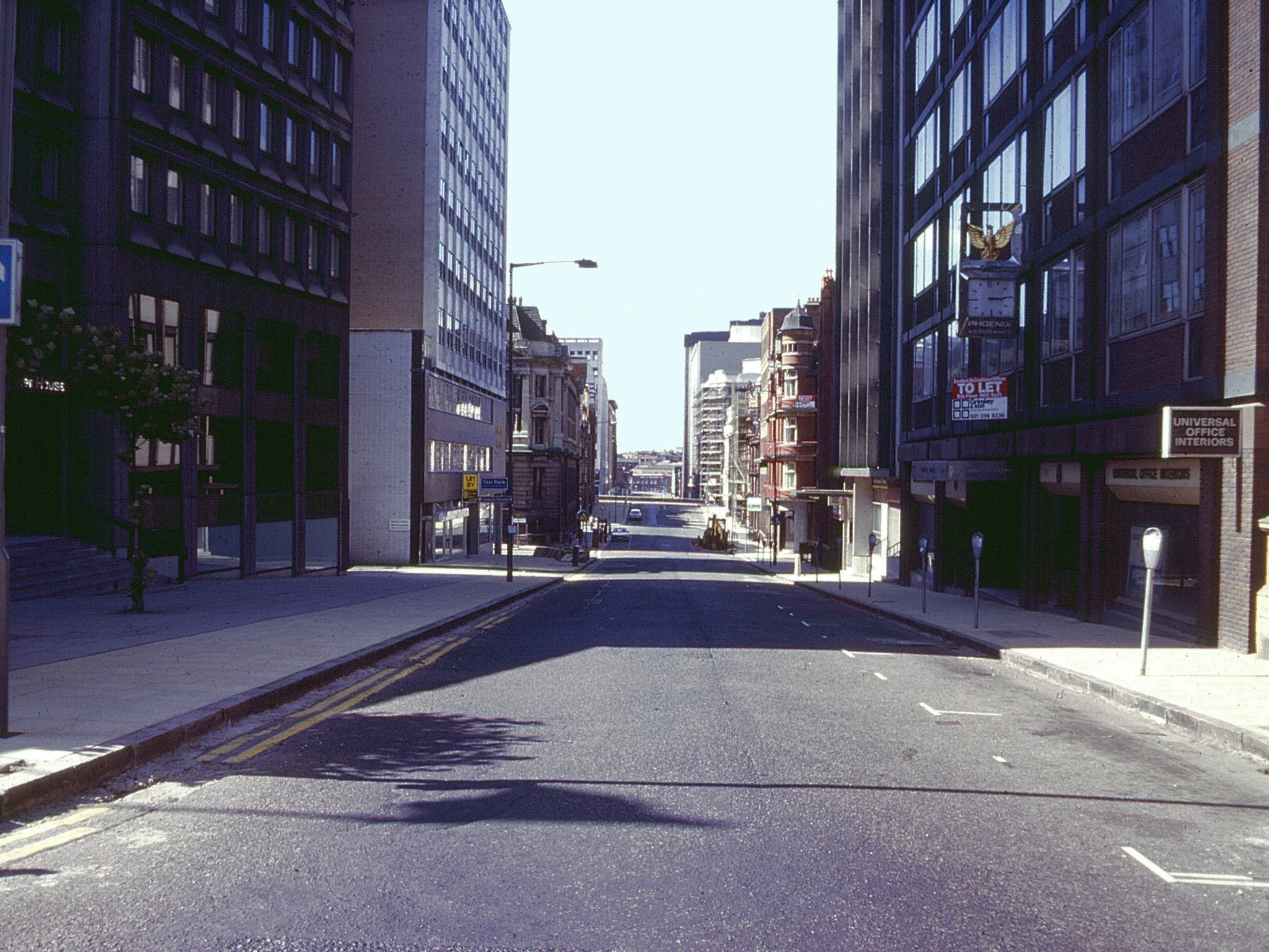 Birmingham in the '80s, Newhall Street