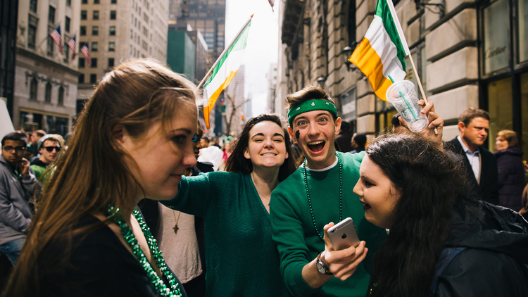 See photos of the 2015 St. Patrick's Day Parade