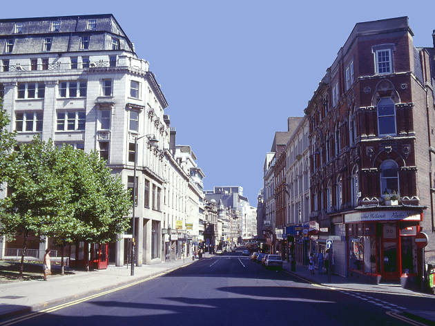 Birmingham in the '80s, New Street