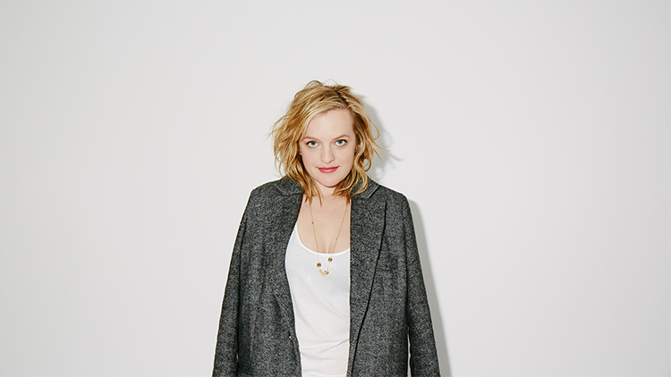 Elizabeth Moss's Time Out New York cover shoot
