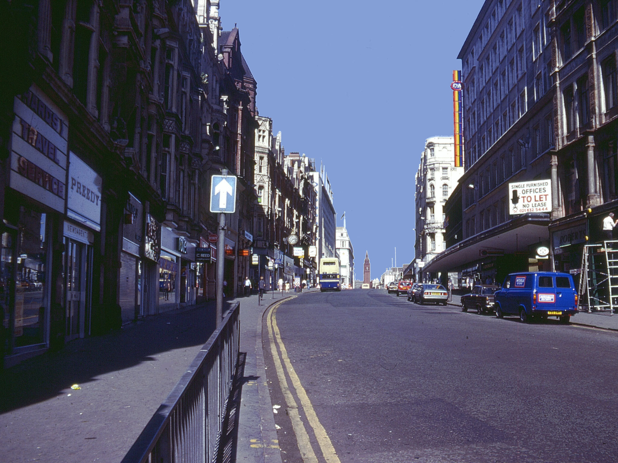 Birmingham in the '80s, Corporation Street