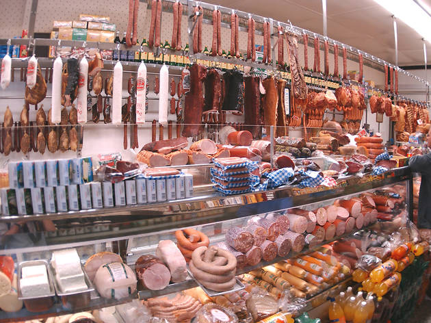 Visit a butcher shop in nyc for the best bbq burgers and for Fish market restaurant nyc