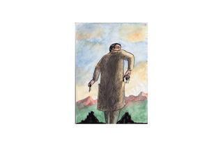 (Roland Topor, 'Les Mains sales', c. 1990 / Courtesy galerie Anne Barrault)