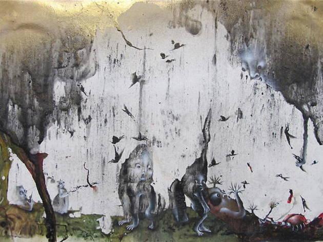 (Marlène Mocquet, 'Stèle', 2015 / Courtesy Galerie Laurent Godin, Paris)