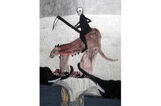 (Annette Barcelo, 'An gewisse Dinge solte Man sich gewohnen', 2011 / Courtesy Galerie Anne de Villepoix)