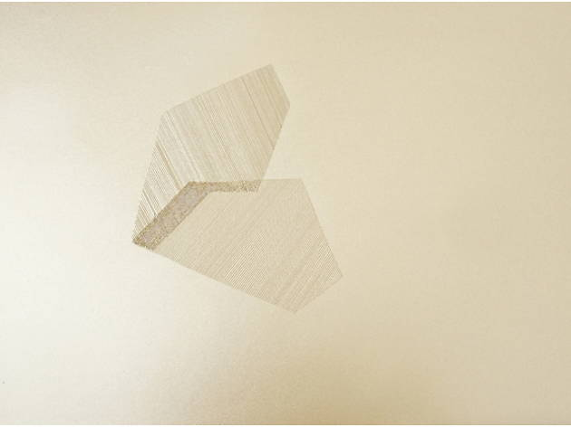 (Lucie Le Bouder, 'Pearl Cutting', 2013 / Courtesy galerie 22,48m², Paris)