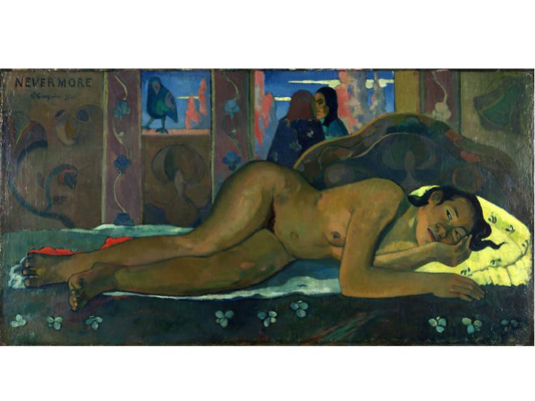 'Nevermore' - Paul Gauguin