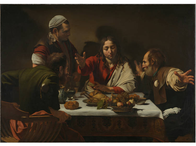 'The Supper at Emmaus' - Caravaggio