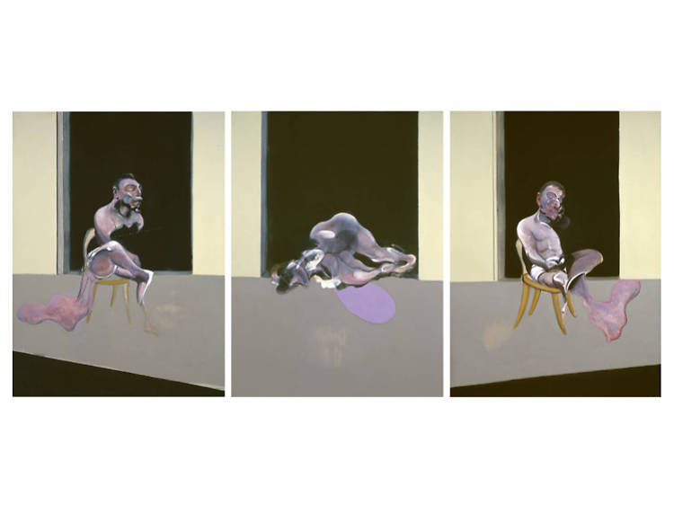'Triptych – August 1972' by Francis Bacon