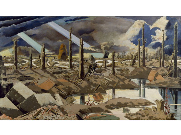 Paul Nash, Menin Road
