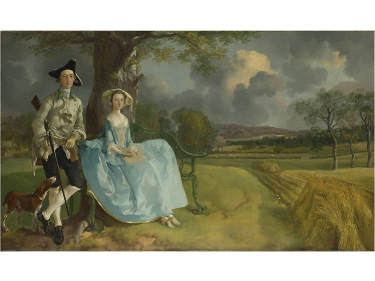 'Mr and Mrs Andrews' - Thomas Gainsborough