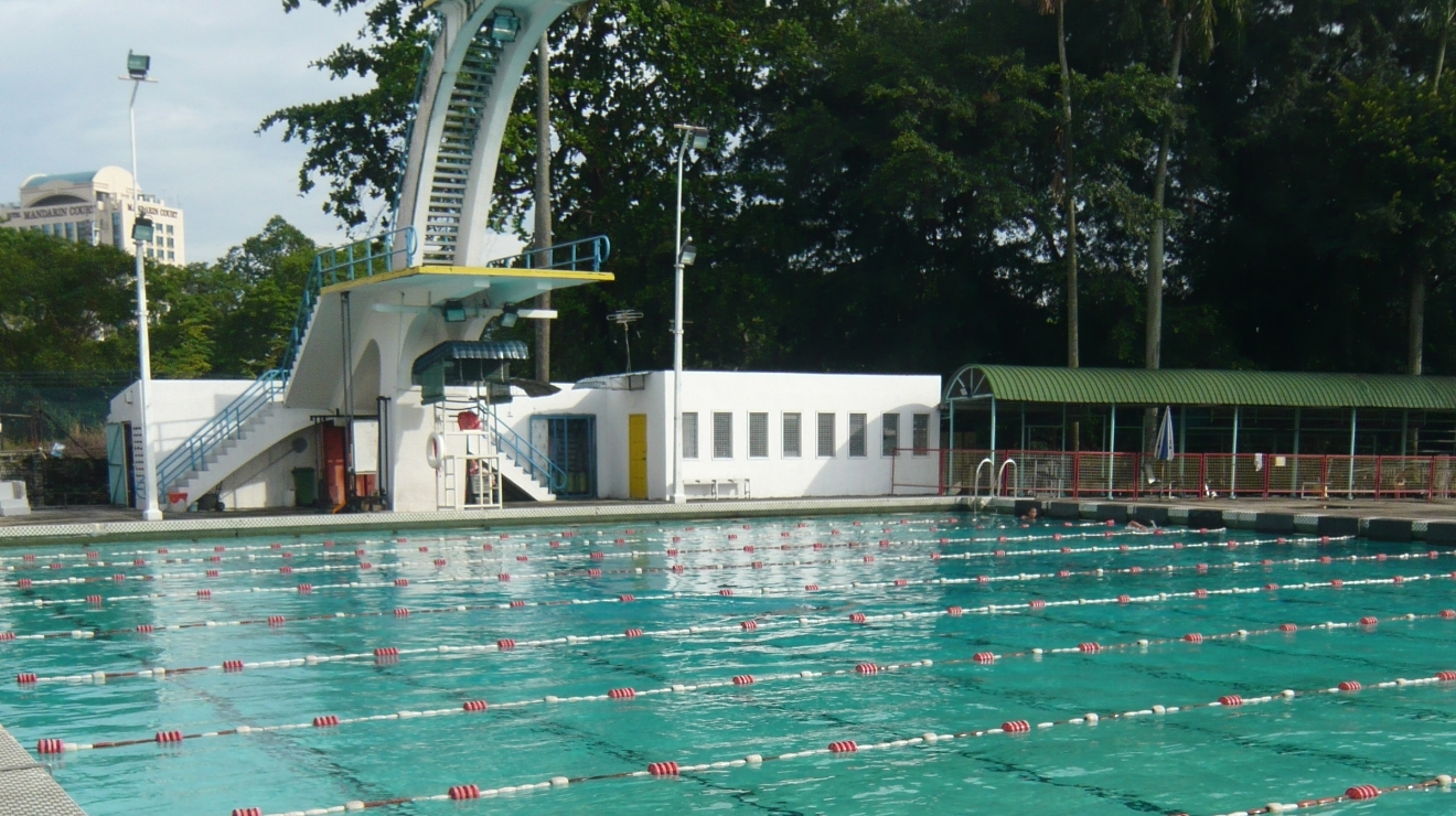 Chin Woo swimming pool
