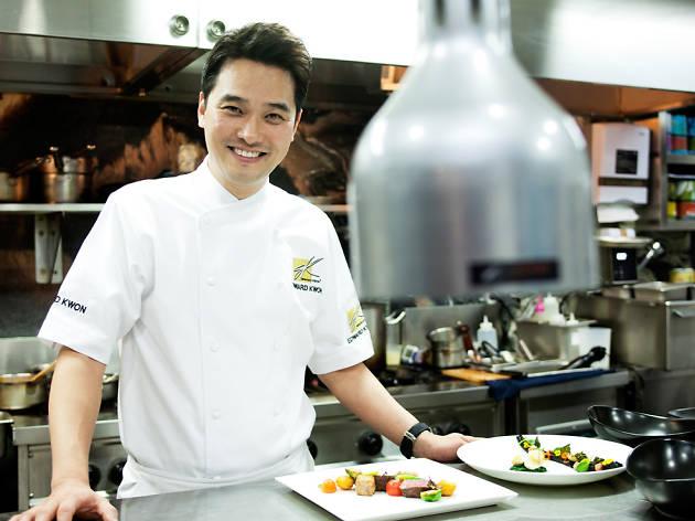Chef Edward Kwon at World Celebrity Chef Series 2015
