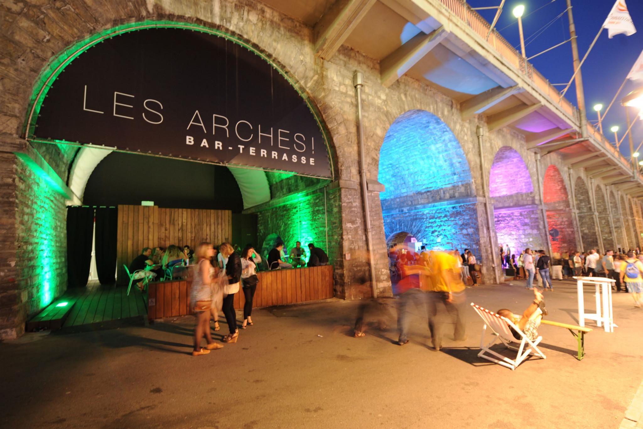 Lausanne, les arches