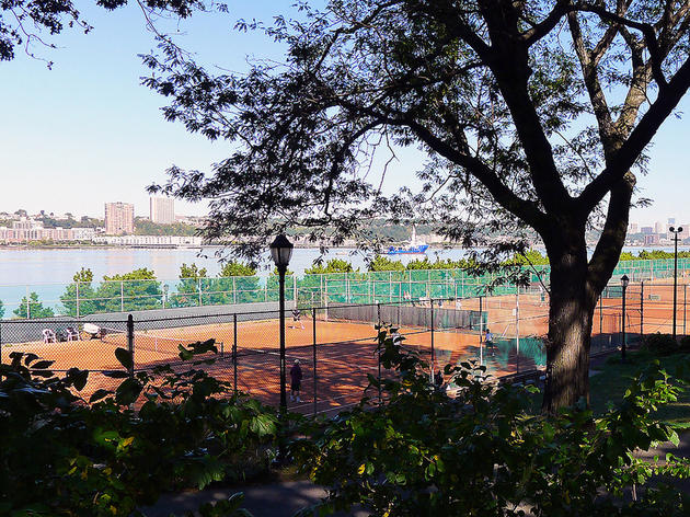 Riverside Park Clay Tennis Courts, 101 TTD
