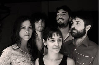 Promo shot of American-French supergroup Aquaserge