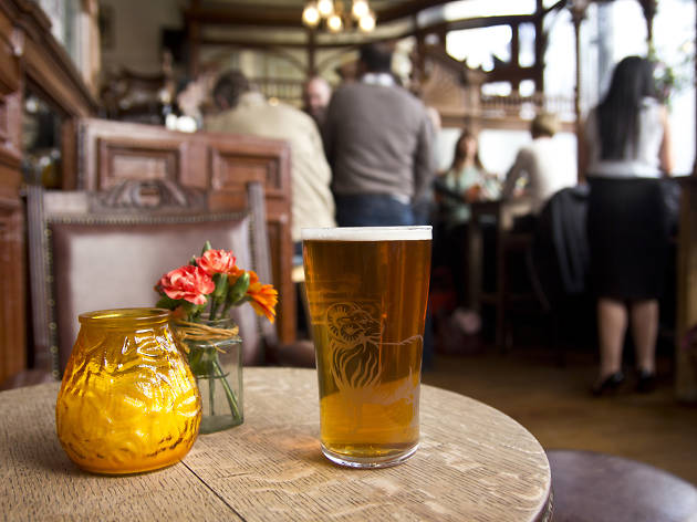 The 100 best bars and pubs in London - Prince Alfred & Formosa Dining Rooms, Little Venice
