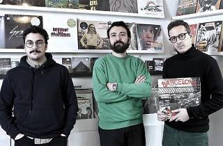 Albert Guàrdia, Wences Aparicio, Artur Estrada