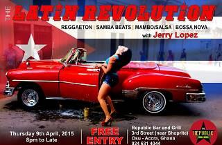 Latin Revolution @ Republic Bar | 9 Apr