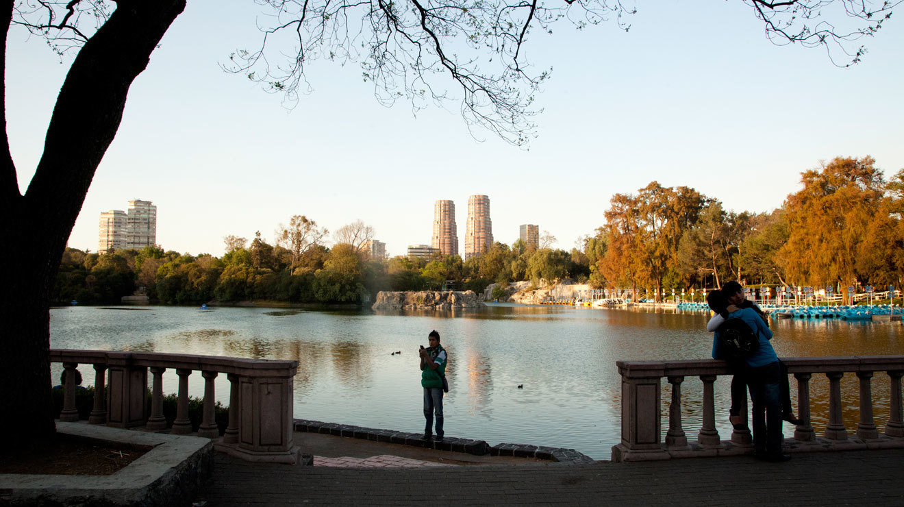 Lago menor de Chapultepec