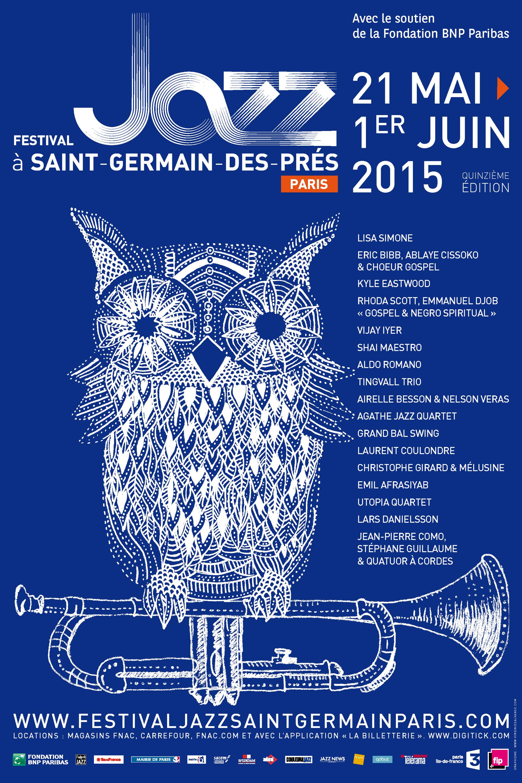 Festival  •  Jazz à Saint-Germain-des-Prés Paris