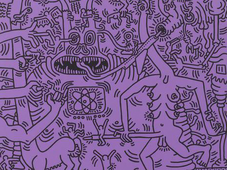 "Keith Haring, ""Heaven and Hell"""