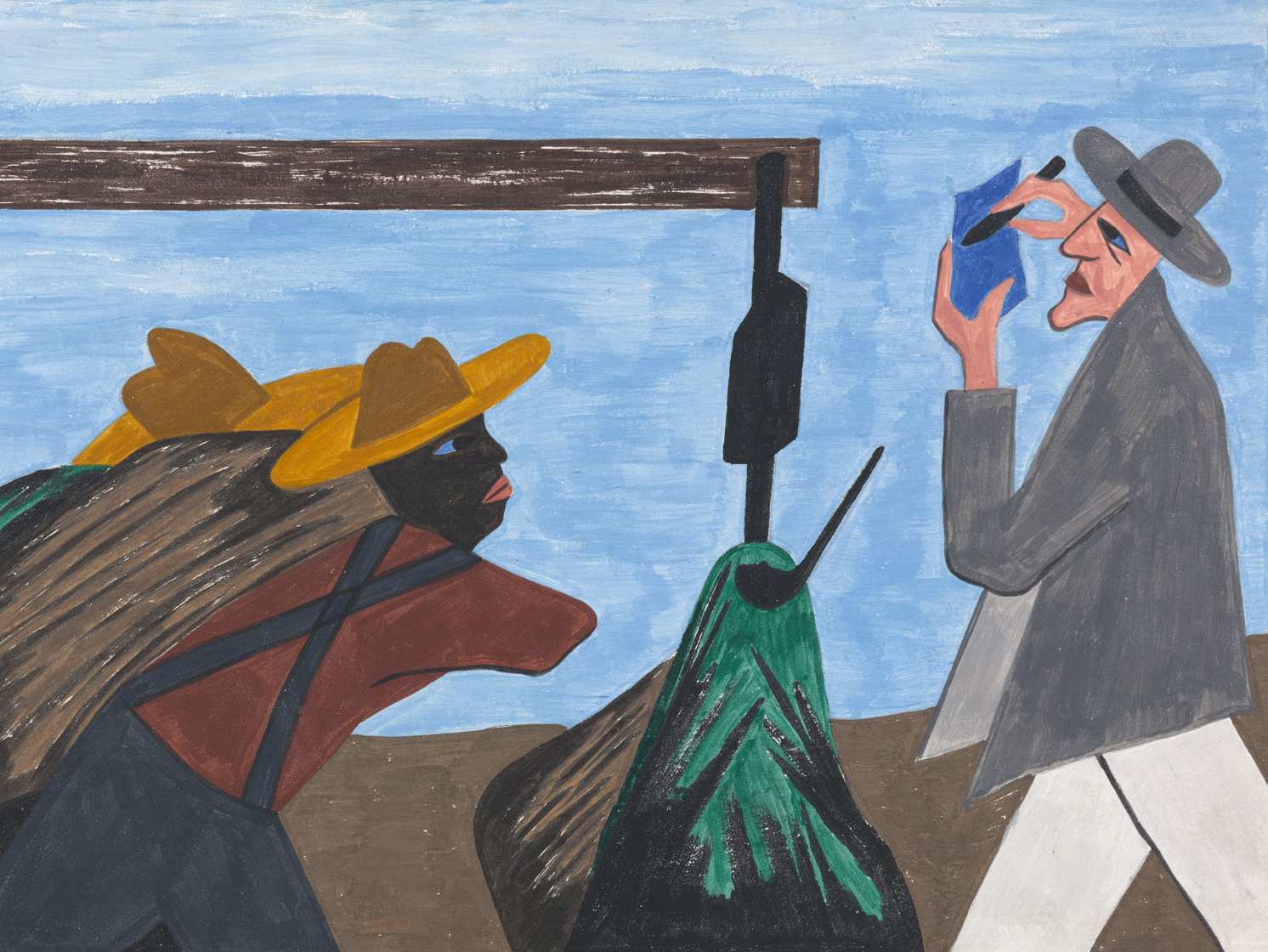 """One-Way Ticket: Jacob Lawrence's Migration Series and Other Visions of the Great Movement North"""