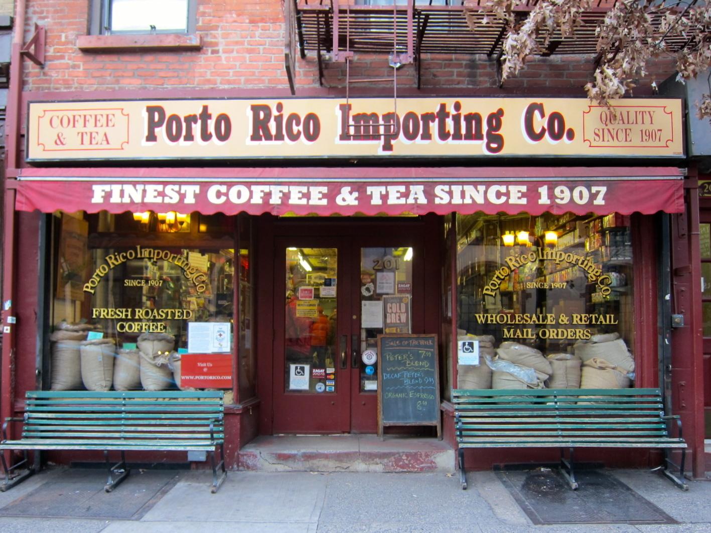 Porto Rico Importing Co.