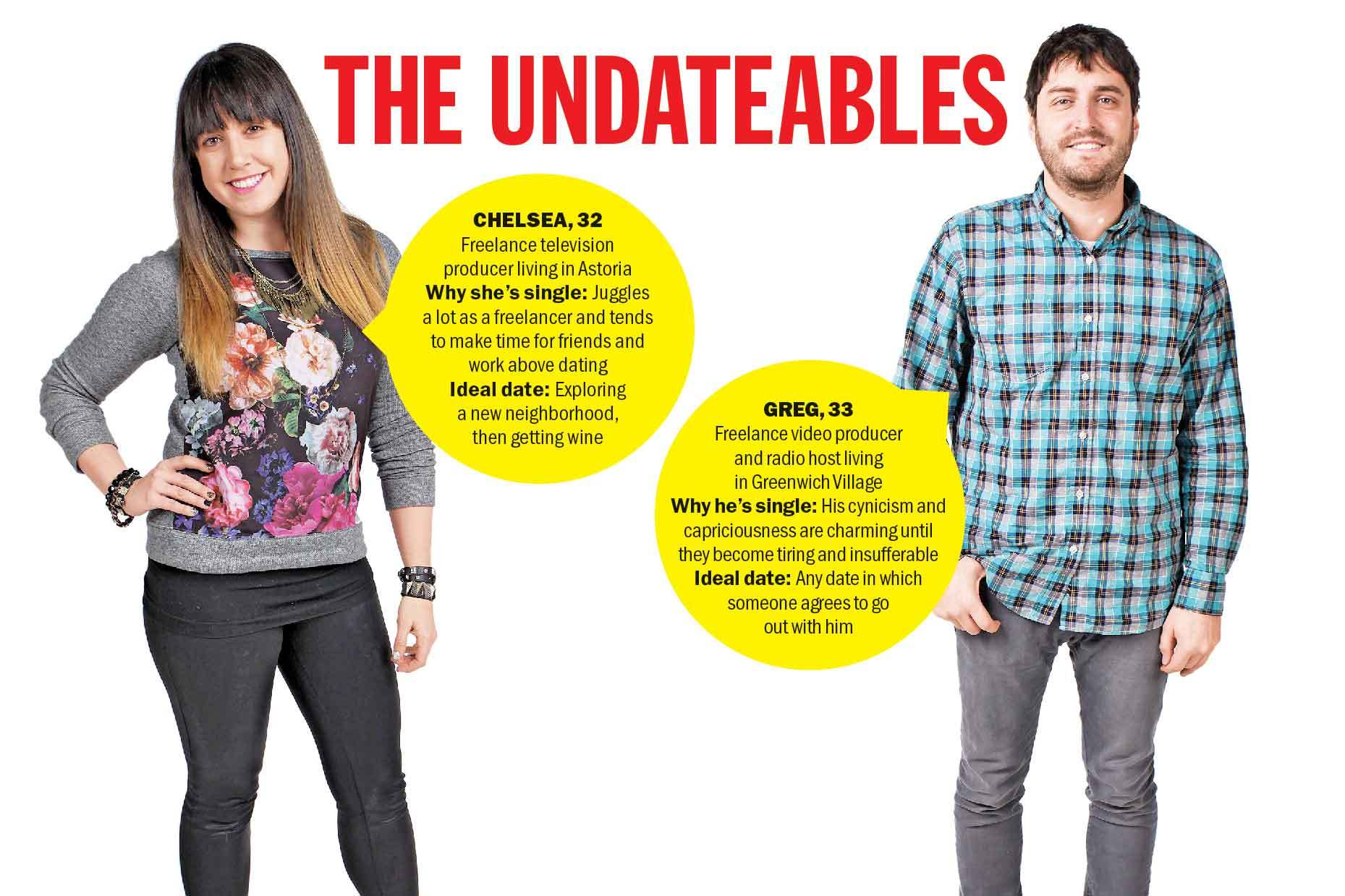 Meet the Undateables: Chelsea and Greg