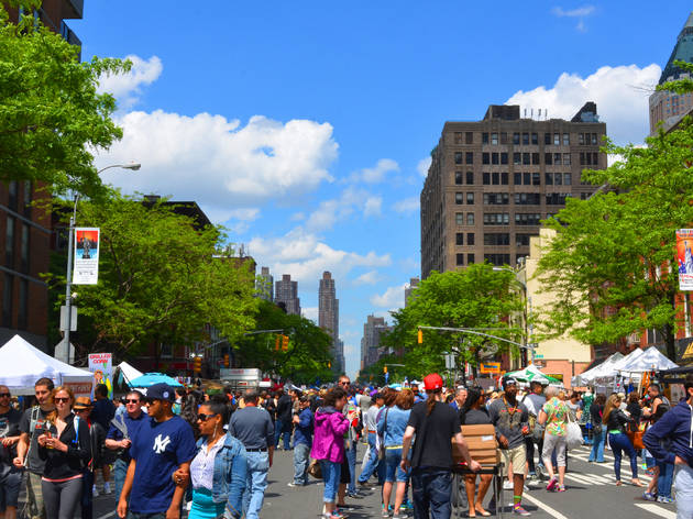 There are an insane amount of food festivals in NYC this weekend