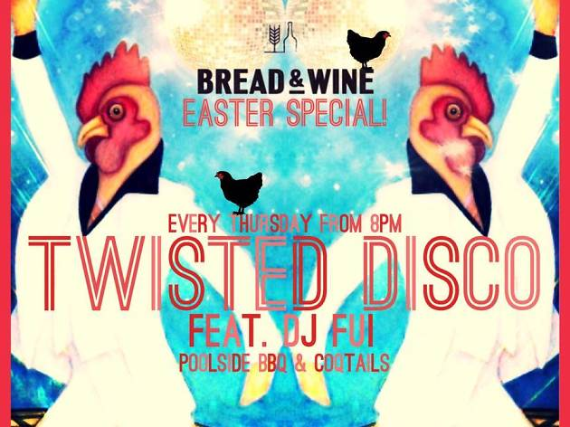 Twisted Disco Easter Special at Bread & Wine
