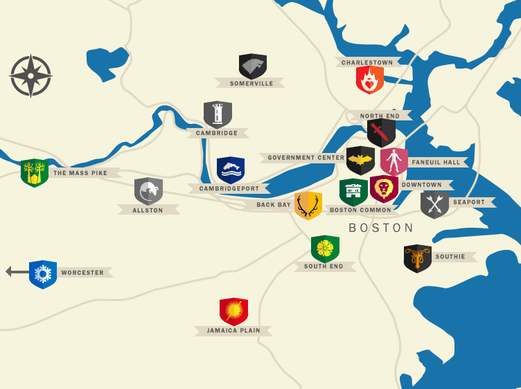 What if Boston were Game of Thrones?