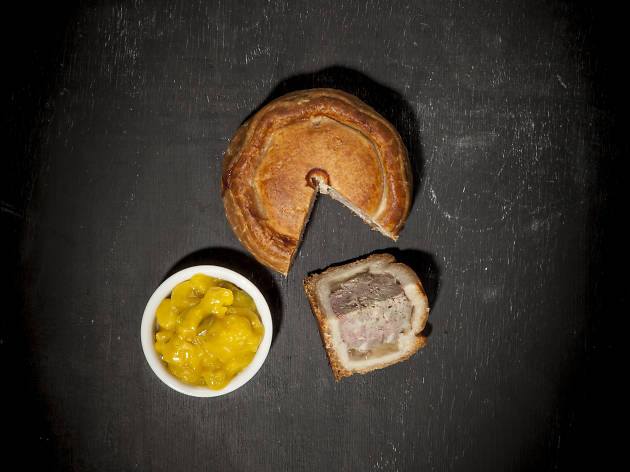 Queen's Head - pork pie