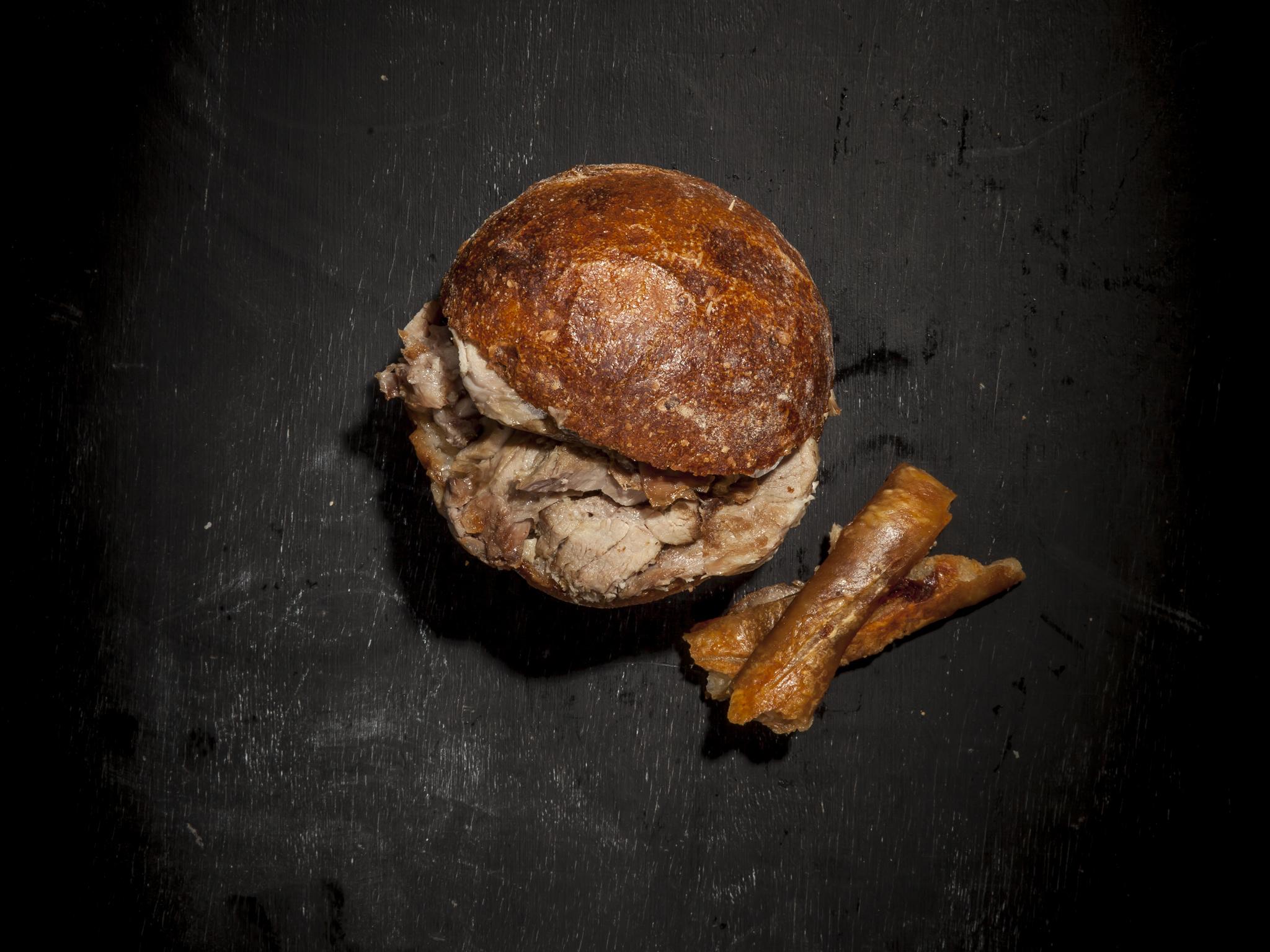 Southampton Arms - roast pork bap