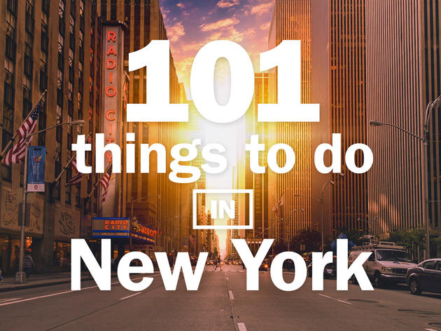 101 things to do in New York