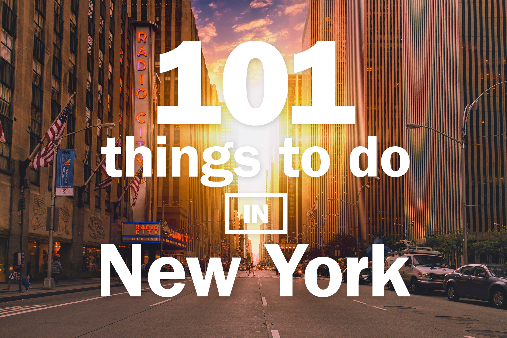 The definitive 101 things to do in NYC