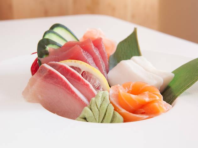 Sashimi dinner at Taketei