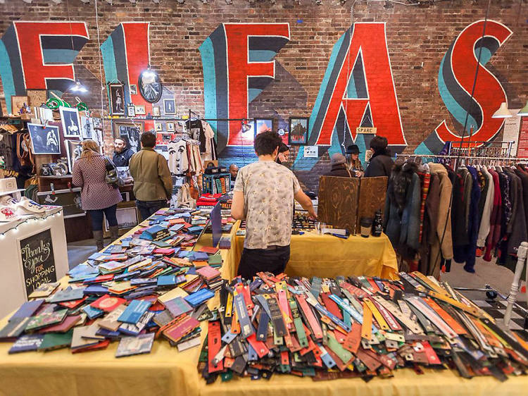 Check out a flea market in NYC